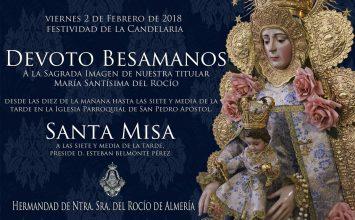 Cultos a la Virgen del Rocío en la Candelaria