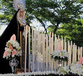 CORTES DE BAZA. Cartel de Semana Santa