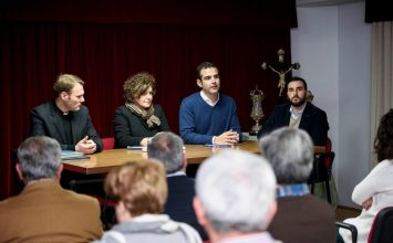 El Ayuntamiento de Almería con las cofradías