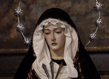 La Soledad viste para Cuaresma