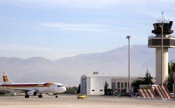 El aeropuerto de Granada aumenta un 31,5% sus viajeros