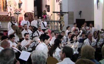 FUENTE VAQUEROS. La Banda de la Dolores el Viernes Santo