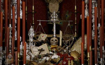 El altar de cultos de San Agustín