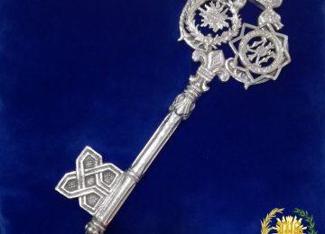 La llave que abre la Semana Santa ya está en la Alhambra