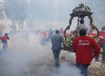 CÚLLAR VEGA. Vídeo de la procesión de los petardos