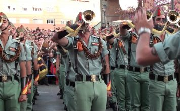 La Legión desfilará el Viernes Santo