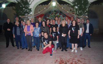 Cruces de mayo cofrades en Almería