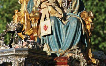 Cartel del Inmaculado Corazón de María
