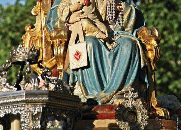 Comienzan los cultos al Inmaculado Corazón de María