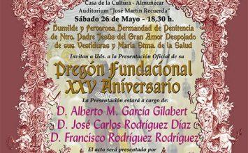 ALMUÑÉCAR. Pregón del XXV Aniversario del Despojado