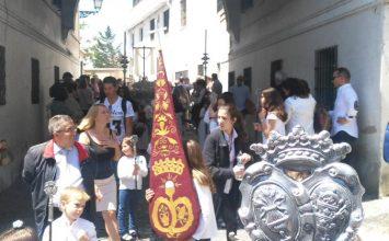 Gran participación en la procesión infantil de Las Maravillas