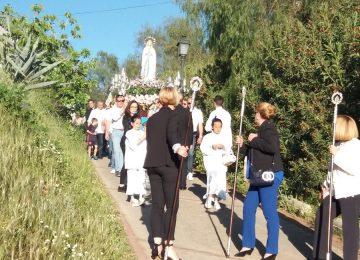 Tres procesiones salieron a la calle el último fin de semana