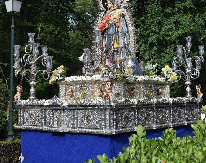 Con el Pregón, hoy inicia sus cultos de mayo la ADMA Alhambra