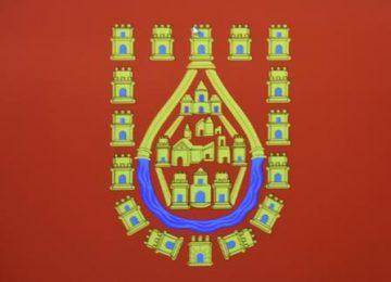 BAZA. Bandera de la ciudad para la Federación de Cofradías