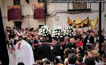 MARACENA. Cultos al Corpus Christi