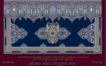 La Alhambra bordará los faldones del paso