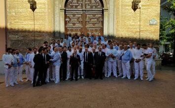 Granada salió en procesión con el Corpus