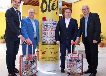 Granada y Jaén se promocionan en París