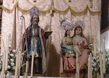 MARACENA. Cultos a Santa Ana y presentación del cartel patronal