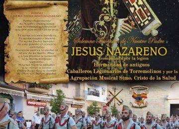 ALGARINEJO. Procesión de Jesús Nazareno