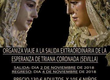 HUÉSCAR. La Soledad organiza un viaje a Sevilla