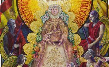 Cartel del Centenario de la Coronación de la Virgen del Rocío