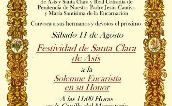 El Cautivo celebra Santa Clara