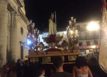 SANTA FE. San Agustín recorrió las calles