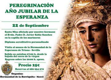 MOTRIL. La Borriquita peregrina a Sevilla