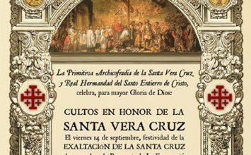 ALMUÑÉCAR. Cultos a la Santa Vera Cruz