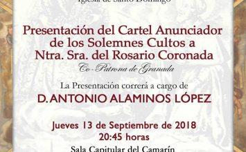 Hoy se presenta el cartel del Rosario