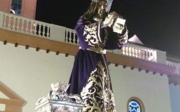 HUÉTOR TÁJAR. El Nazareno salió en procesión
