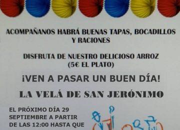 Velá de San Jerónimo, el próximo sábado