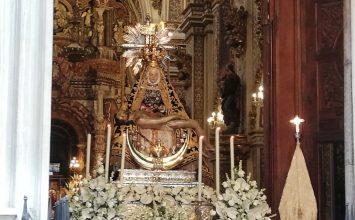 Hoy, procesión de la Patrona