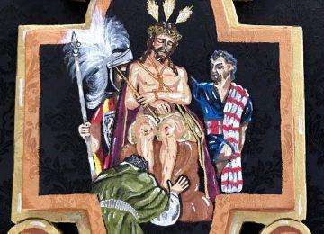 CHURRIANA DE LA VEGA. Cartela para el Nazareno