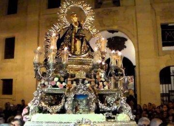 Cultos de la 'Morenita' en Granada