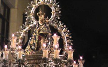 Hoy, procesion de la Virgen de la Cabeza
