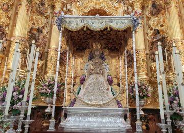 Salida extraordinaria de la Virgen del Rocío