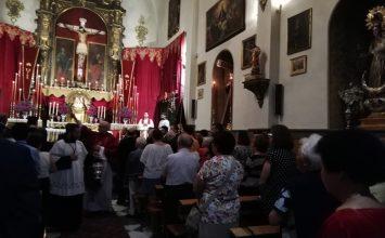 Renovado el voto al Cristo de San Agustín