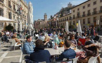 Lleno turístico en Granada