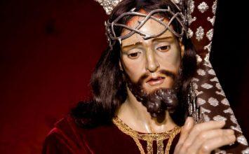 HUÉTOR TÁJAR. Jesús Nazareno hoy en procesión