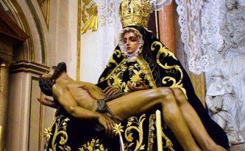 MOTRIL. Cultos a la Virgen de las Angustias