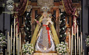 La Virgen del Rosario recibe hoy la Medalla de la Ciudad