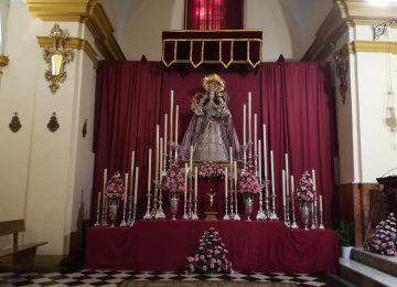 La Virgen de la Granada celebró sus cultos