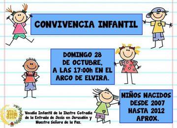 Jornada infantil de La Borriquilla