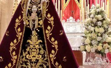 Nuestra Señora de los Reyes en besamanos