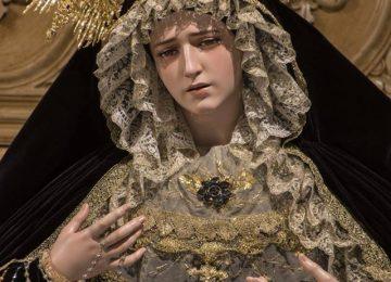 MARÍA VISTE DE LUTO. Rosario de Motril