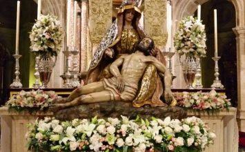 GUADIX. Cultos a la Virgen de las Angustias