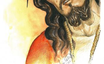 Besapies a Jesús de la Sentencia