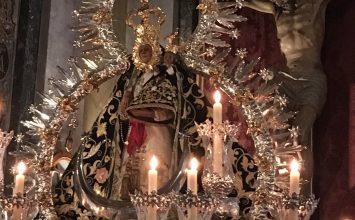 La Morenita salió en procesión